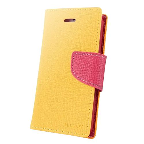 Cross Texture Wallet Leather Cover for Sony Xperia Z3 Compact with Stand and Holder (Orange)