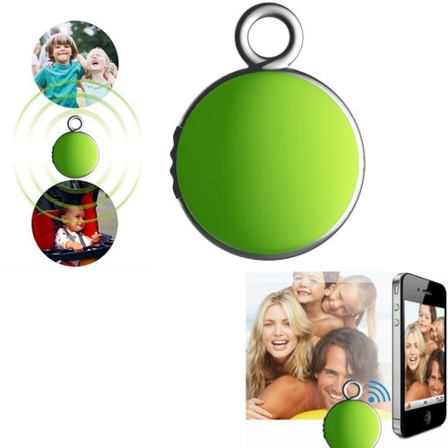 2015 New Products 4.0 Bluetooth Camera Remote Shutter Anti Lost Device Tracker for IOS and Android (Green)