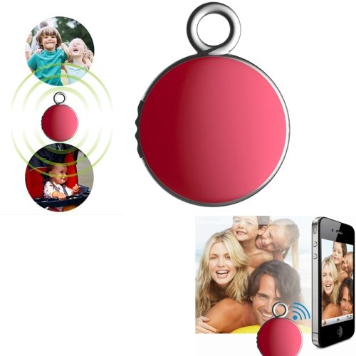 2015 New Products 4.0 Bluetooth Camera Remote Shutter Anti Lost Device Tracker for IOS and Android (Red)