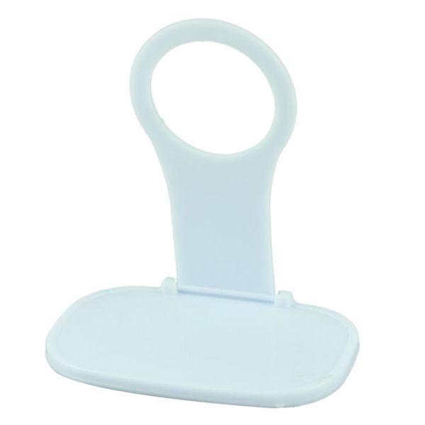 Nice Design Foldable Plastic Mobile Phone Charging Holder (White)
