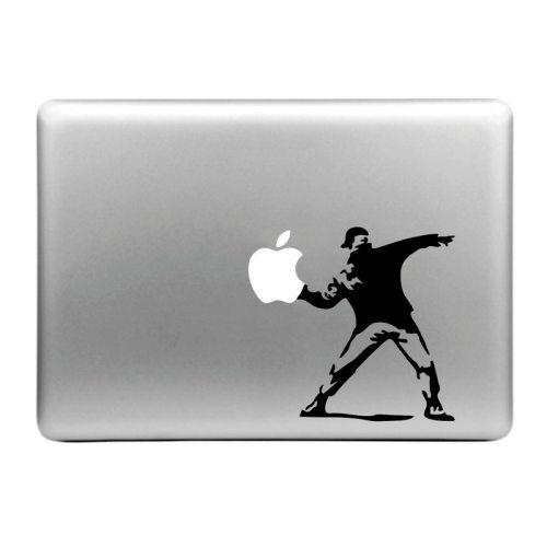 Hat-Prince Threw the Apple Pattern Decorative Sticker for MacBook Air / Pro / Pro with Retina Display
