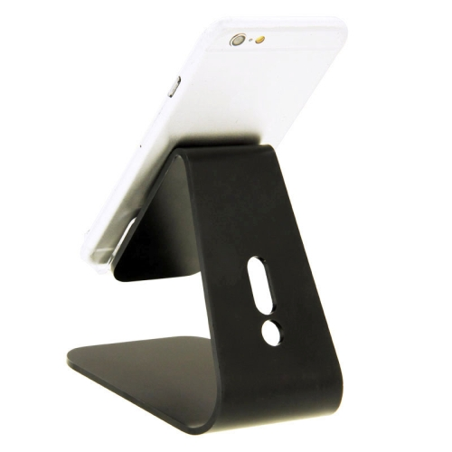 Universal Micro-suction Aluminum Alloy Stand for for iPhone/ iPad/ Samsung/ HTC/ Nokia/ LG Mobile Phone or Tablet PC (Black)