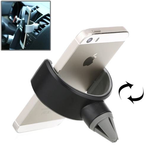 Universal Portable ABS Car Air Vent Mount Holder for iPhone 6/6 Plus /iPhone 5/5S (Black)
