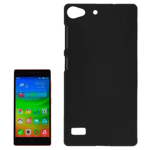 Hot Sale Pure Color Plastic Protective Case for Lenovo Vibe X2 (Black)
