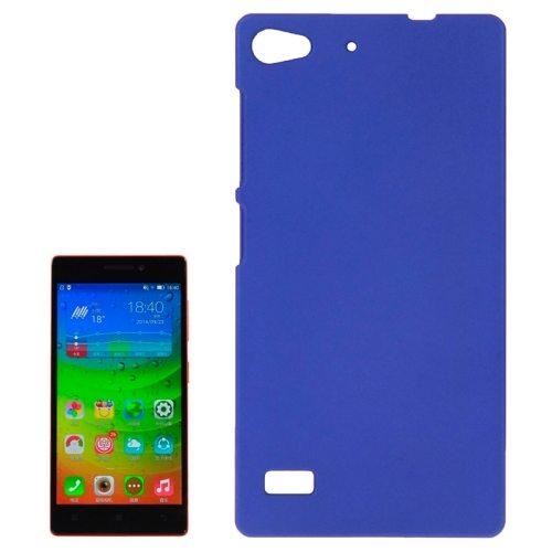 Hot Sale Pure Color Plastic Protective Case for Lenovo Vibe X2 (Blue)