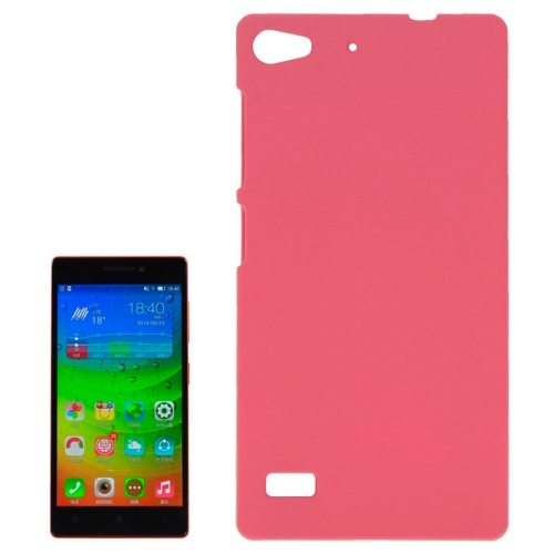 Hot Sale Pure Color Plastic Protective Case for Lenovo Vibe X2 (Pink)