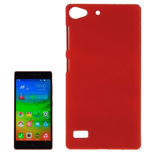 Hot Sale Pure Color Plastic Protective Case for Lenovo Vibe X2 (Red)