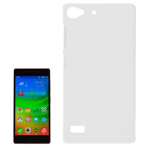 Hot Sale Pure Color Plastic Protective Case for Lenovo Vibe X2 (White)