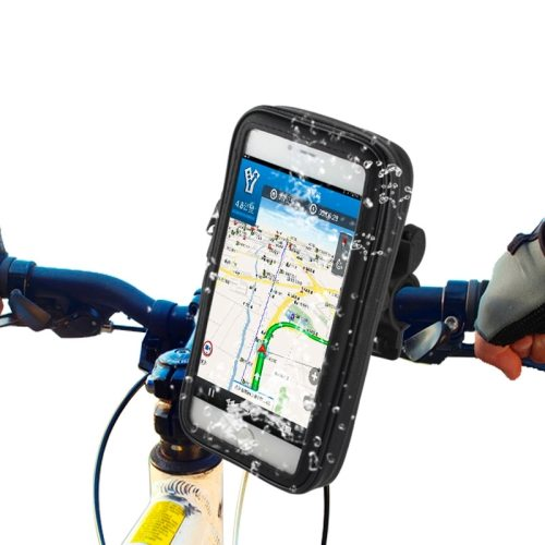 Outdoor Sports Waterproof Bag Bike Mount Case for iPhone 6 Plus / Samsung Galaxy Note 4 etc with Bicycle Mount