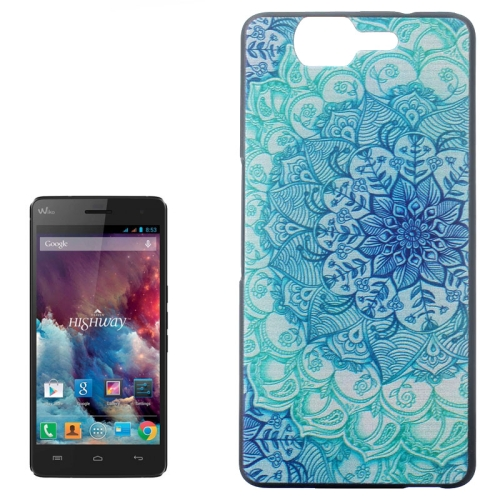 Ultrathin Hard PC Protective Back Case for Wiko Highway (Flower Bud Pattern)