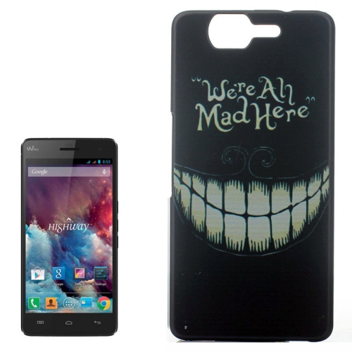 Ultrathin Hard PC Protective Back Case for Wiko Highway (Grin Pattern)