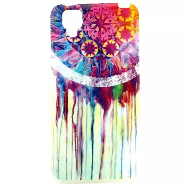 Ultrathin IMD Craft Soft TPU Protective Back Cover Case for Wiko GOA (Color Windbell Pattern)