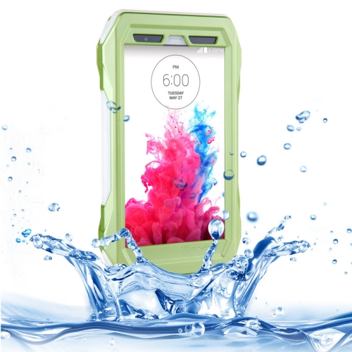 IP68 Waterproof Protective Case for LG G3 with HD Screen Guard (Green)