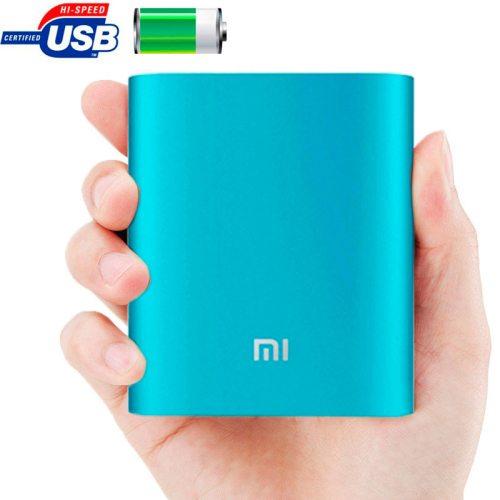 Xiaomi 10400mAh High Capacity Portable Rechargeable USB External Battery Power Bank (Blue)