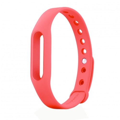 TPSIV Silicone Colorful Replacement Wristbands Bracelet for Xiaomi Smart Wristband (Red)