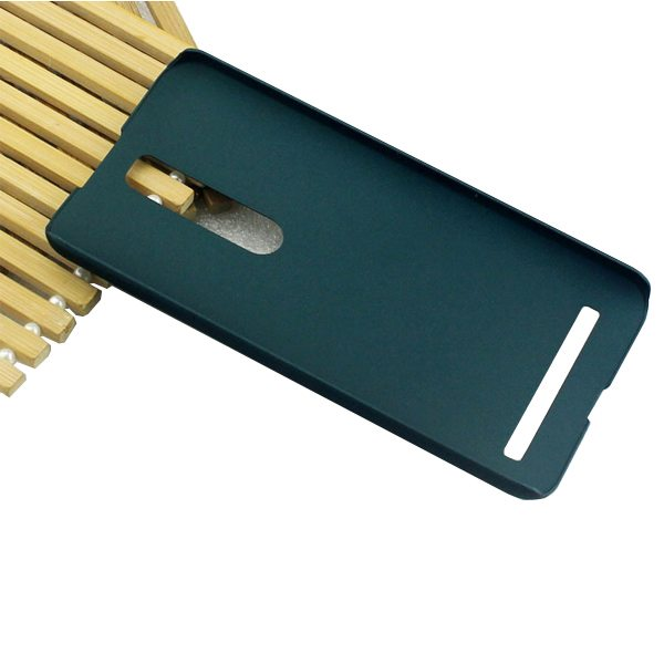 PUDINI Pin Series Oil Coated PC Hard Case for Asus ZenFone 2 (Green)