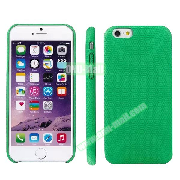 Football Texture Soft TPU Case for iPhone 6 4.7 (Green)