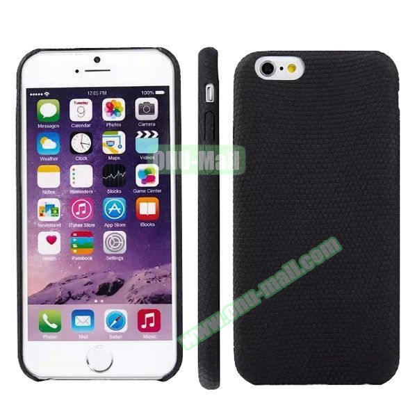 Football Texture Soft TPU Case for iPhone 6 4.7 (Black)