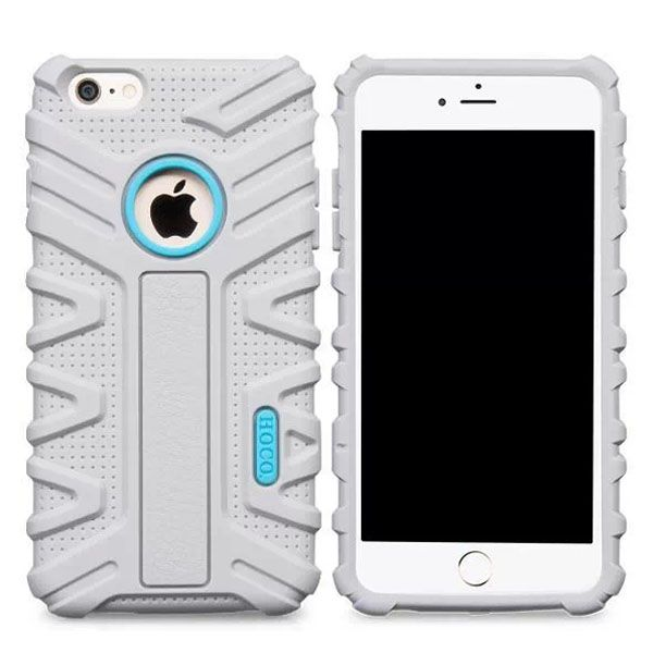 HOCO Evolution Series Fashional Design Silicone Case for iPhone 6 Plus (White)