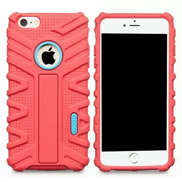 HOCO Evolution Series Fashional Design Silicone Case for iPhone 6 Plus (Red)