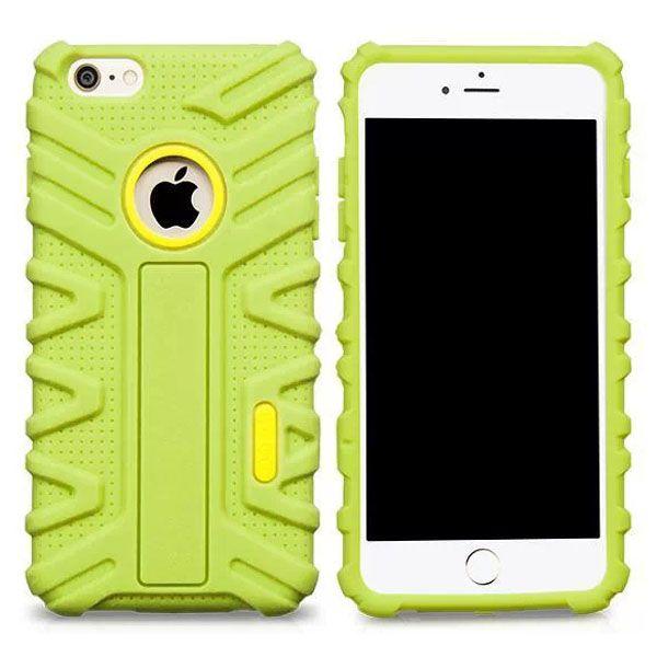 HOCO Evolution Series Fashional Design Silicone Case for iPhone 6 Plus (Green)