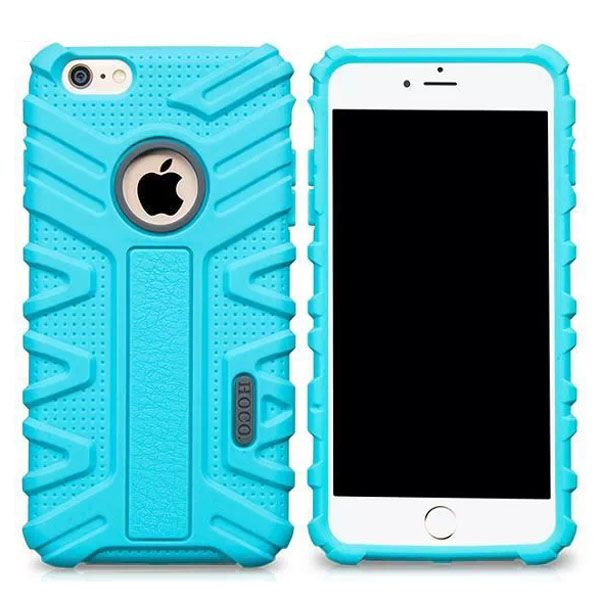 HOCO Evolution Series Fashional Design Silicone Case for iPhone 6 Plus (Blue)