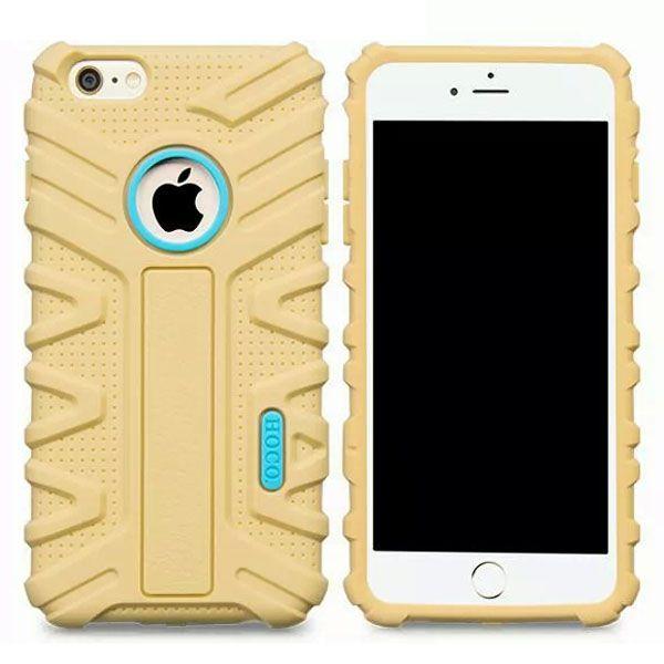 HOCO Evolution Series Fashional Design Silicone Case for iPhone 6 Plus (Gold)