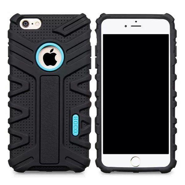 HOCO Evolution Series Fashional Design Silicone Case for iPhone 6 Plus (Black)