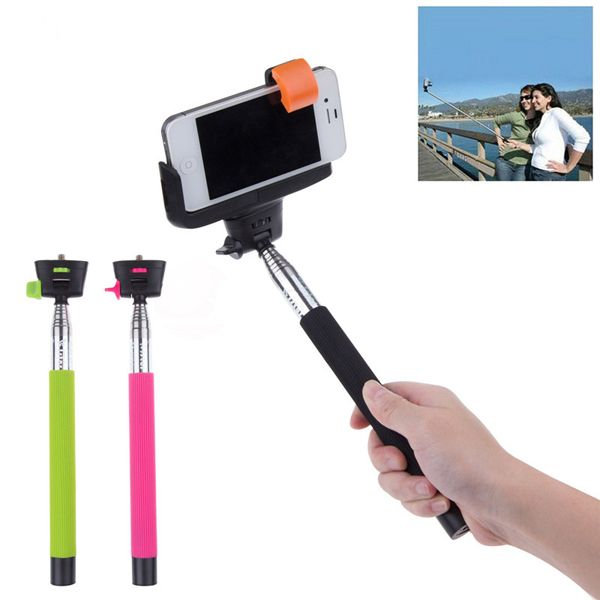 Handheld Bluetooth Selfie Monopod Extendable For iPhone 6/Plus, Samsung, Sony, HTC, Other Cell Phone
