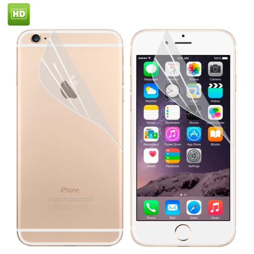 Premium Front and Back Screen Protector for iPhone 6 4.7 (HD)