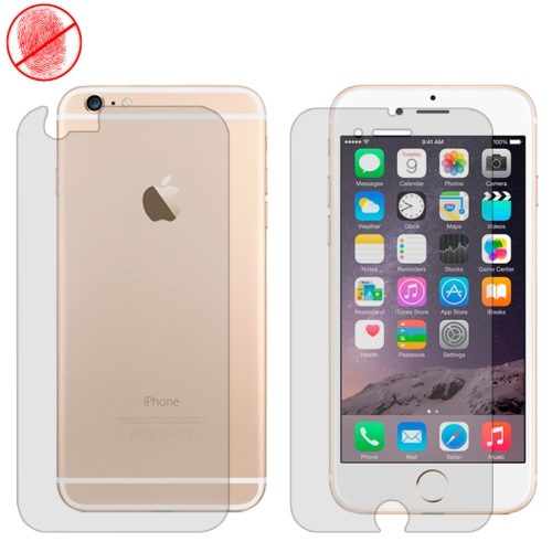 Premium Front and Back Screen Protector for iPhone 6 4.7 (Frosted)
