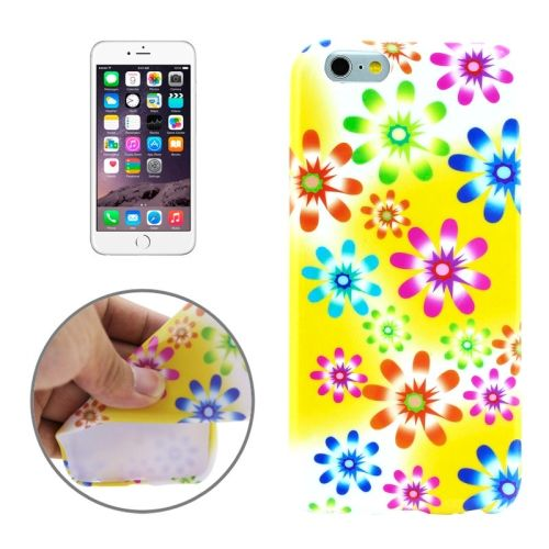 3D Printing Colorful Design Soft TPU Case for iPhone 6 4.7 (Color Gradient )