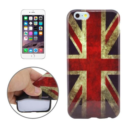 3D Printing Colorful Design Soft TPU Case for iPhone 6 4.7 (UK Flowers)