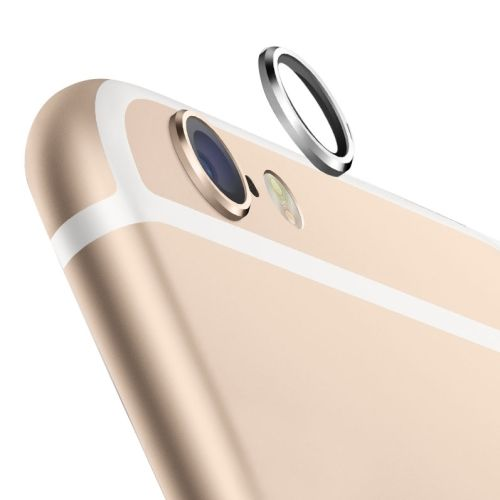 0.8CM-Wide Protective Ring for Rear Camera Len for iPhone 6 4.7 inch (Silver)