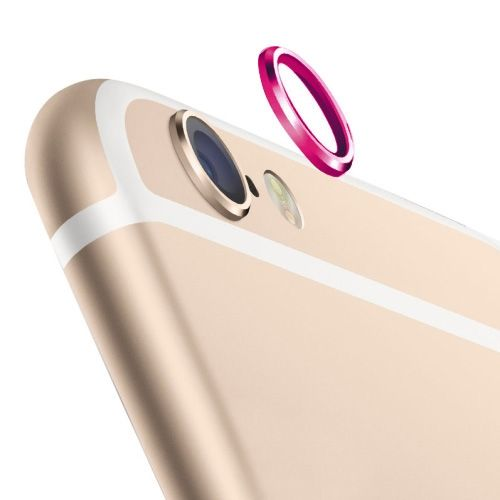 0.8CM-Wide Protective Ring for Rear Camera Len for iPhone 6 4.7 inch (Rose)