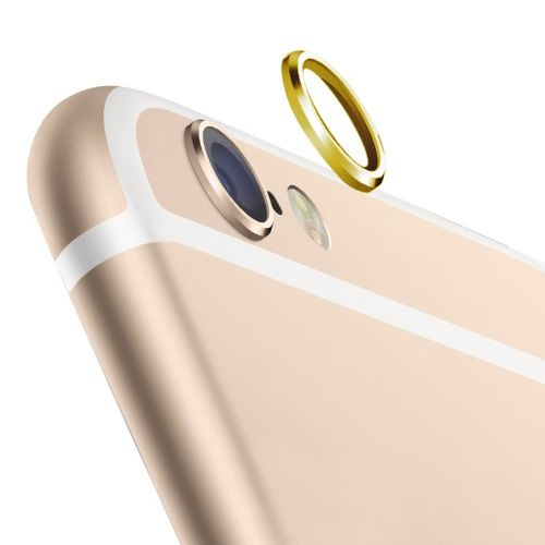 Rear Camera Lens Protective Ring for iPhone 6 Plus (Gold)