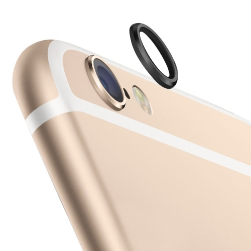 Rear Camera Lens Protective Ring for iPhone 6 Plus (Black)