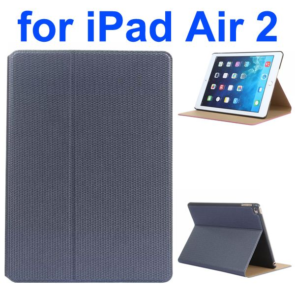 Basketball Texture Flip Leather + PC Case for iPad Air 2 with Holder (Black)