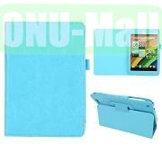 Crazy Horse Leather Case for Acer Iconia A1-830 (Baby Blue)
