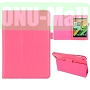 Crazy Horse Leather Case for Acer Iconia A1-830 (Pink)