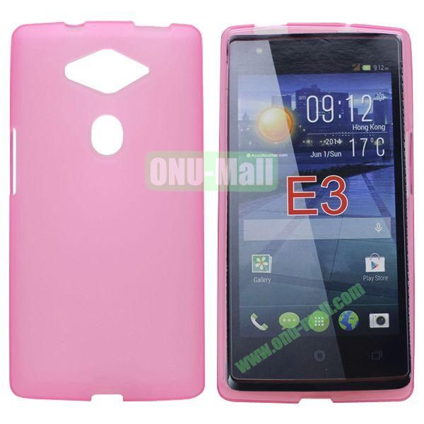 New Arrival Soft TPU Case for Acer Liquid E3 (Pink)