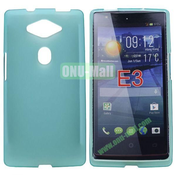 New Arrival Soft TPU Case for Acer Liquid E3 (Cyan)