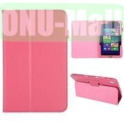 Lichee Pattern Leather Case for Acer Iconia W4 820 (Pink)