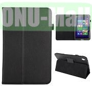 Lichee Pattern Leather Case for Acer Iconia W4 820 (Black)