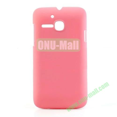 Ultrathin Oil Coated PC Case for Alcatel One Touch MPOP OT5020D 5020 (Pink)