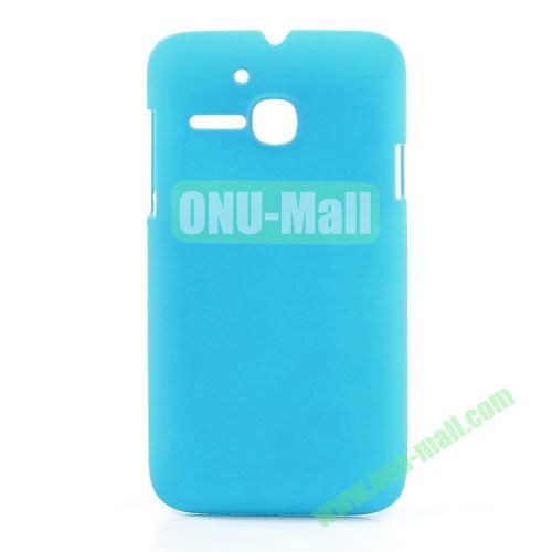 Ultrathin Oil Coated PC Case for Alcatel One Touch MPOP OT5020D 5020 (Baby Blue)
