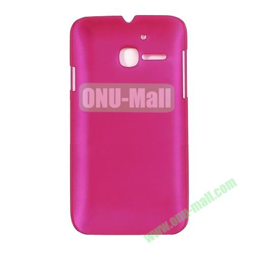 Ultrathin Oil Coated PC Case for Alcatel One Touch MPOP OT5020D 5020 ( Magenta)