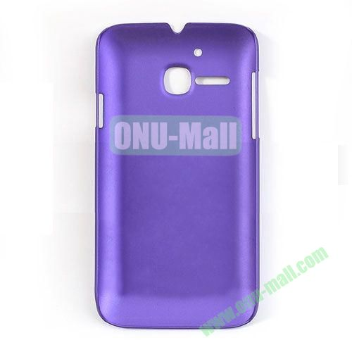 Ultrathin Oil Coated PC Case for Alcatel One Touch MPOP OT5020D 5020 ( Purple)
