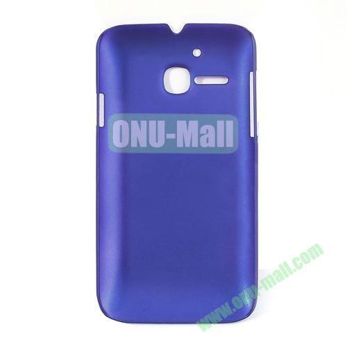 Ultrathin Oil Coated PC Case for Alcatel One Touch MPOP OT5020D 5020 ( Dark Blue)