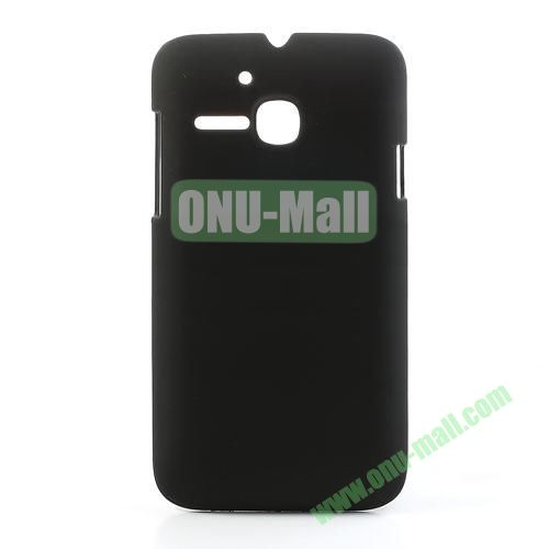 Ultrathin Oil Coated PC Case for Alcatel One Touch MPOP OT5020D 5020 (Black)